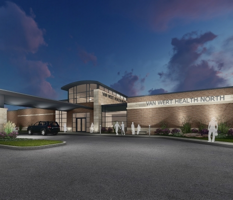 Rendering of Van Wert Health NOrth