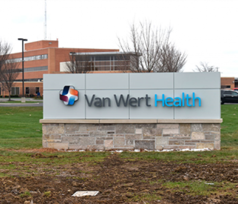 Van Wert Health Sign